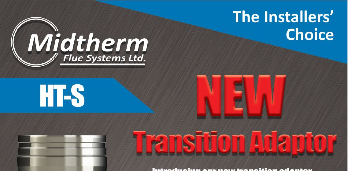 Midtherm Flue Systems NEW Transition Adaptor